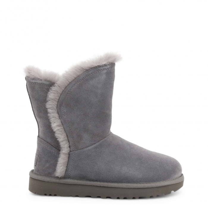 UGG Classic Short Fluff High-Low Boot Grey 0