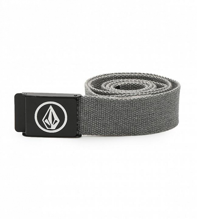 VOLCOM CIRCLE WEB BELT GREY 0