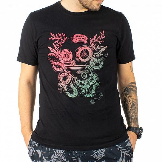 VOLCOM S/S PANGEASEED FA T-SHIRT BLACK 0
