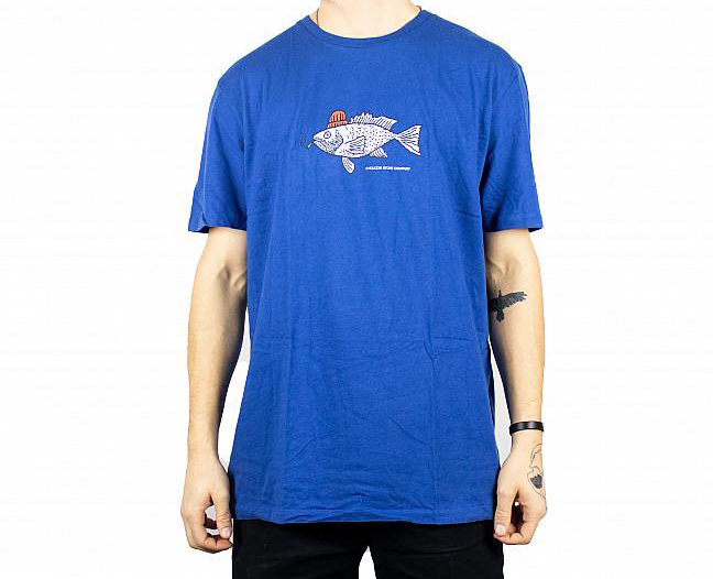 VOLCOM S/S TROUT THERE T-SHIRT BLUE 0