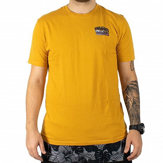 VOLCOM S/S PEARYS LTW T-SHIRT INCA GOLD 0