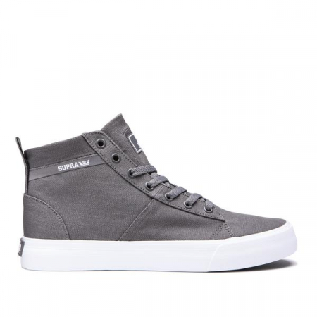 SUPRA STACKS MID GREY-WHITE0