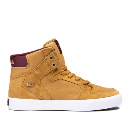 SUPRA VAIDER TAN/WINE-WHITE0