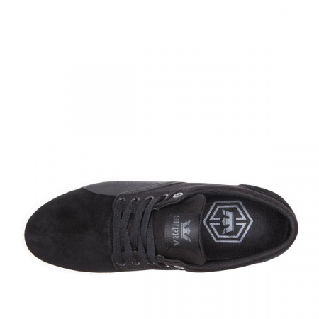 SUPRA CHINO BLACK/BLACK-WHITE3