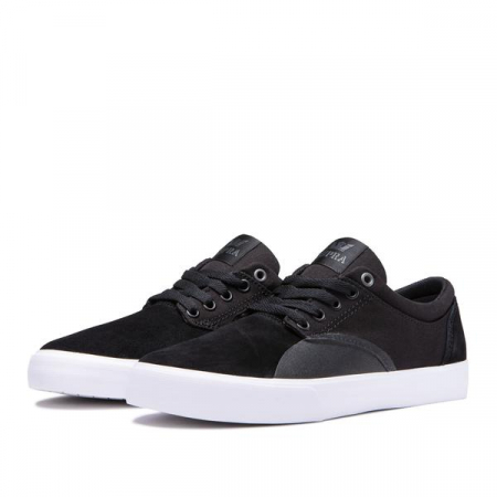 SUPRA CHINO BLACK/BLACK-WHITE4