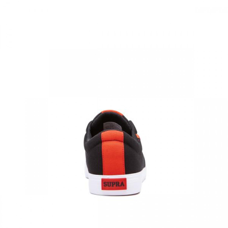 SUPRA STACKS VULC II BLACK/RISK RED-WHITE3