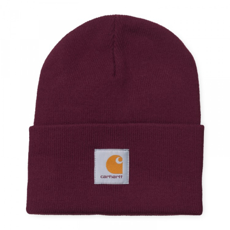 CARHARTT ACRYLIC WATCH HAT MERLOT0