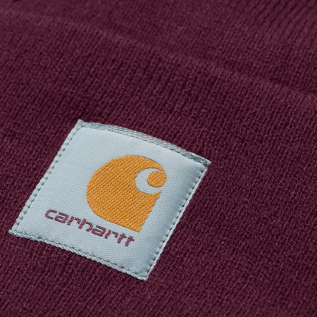 CARHARTT ACRYLIC WATCH HAT MERLOT1
