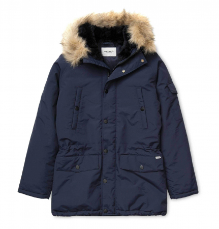 CARHARTT Anchorage Parka Dark Navy / Black0