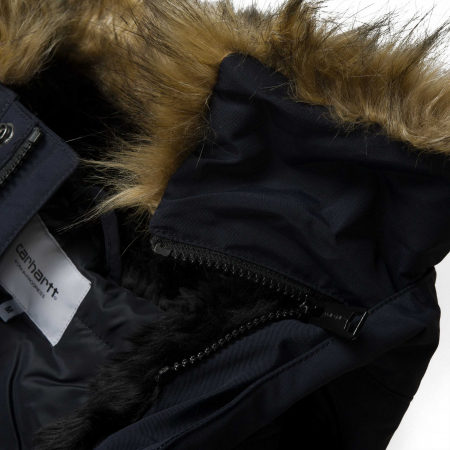 CARHARTT Anchorage Parka Dark Navy / Black4