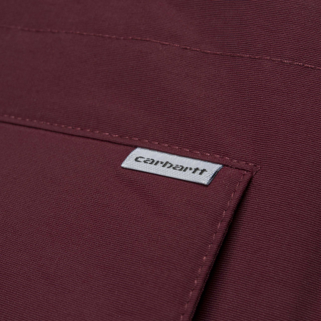 CARHARTT ANCHORAGE PARKA MULBERRY / BLACK1