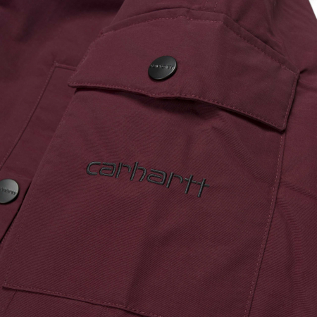 CARHARTT ANCHORAGE PARKA MULBERRY / BLACK5