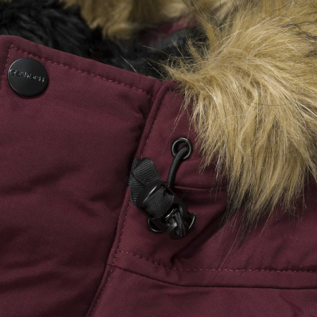 CARHARTT ANCHORAGE PARKA MULBERRY / BLACK7