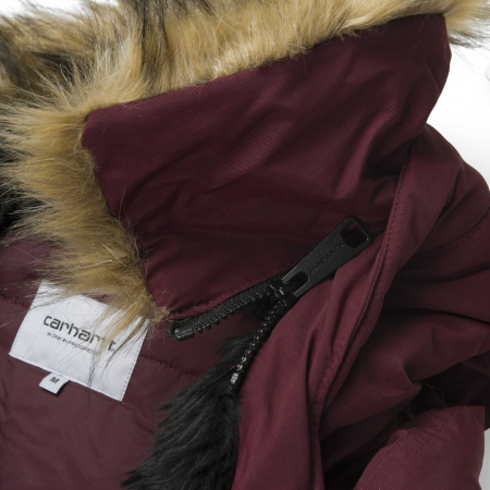 CARHARTT ANCHORAGE PARKA MULBERRY / BLACK6