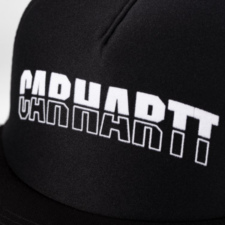 CARHARTT District Trucker Cap Black / White1