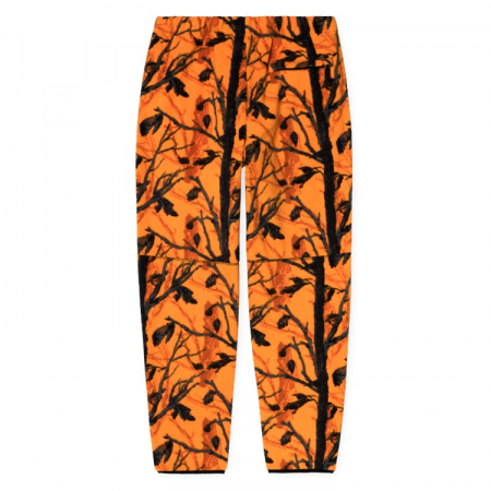 CARHARTT BEAUFORT SWEAT PANT CAMO TREE, ORANGE / REFLECTIVE GREY1