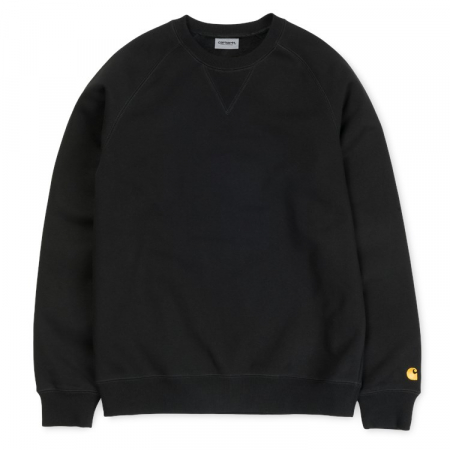 CARHARTT Chase Sweat Black / Gold0