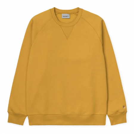 CARHARTT CHASE SWEAT COLZA / GOLD0