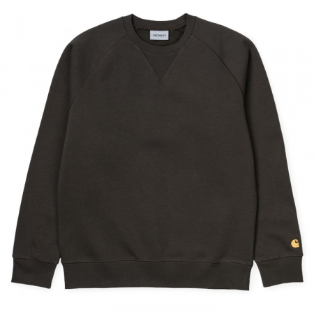 CARHARTT CHASE SWEAT CYPRESS / GOLD0