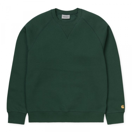CARHARTT CHASE SWEAT TREEHOUSE / GOLD0