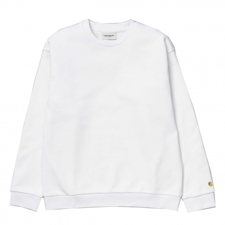 CARHARTT Chase Sweat White / Gold0