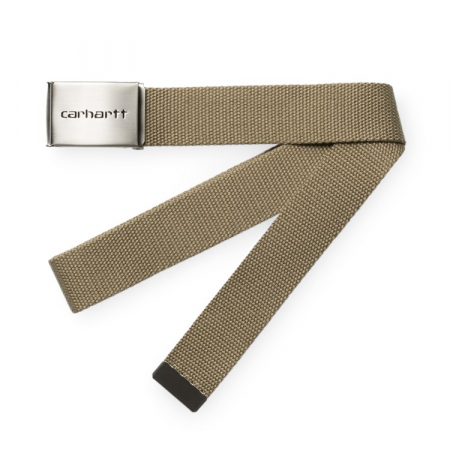 CARHARTT Clip Belt Chrome Leather0