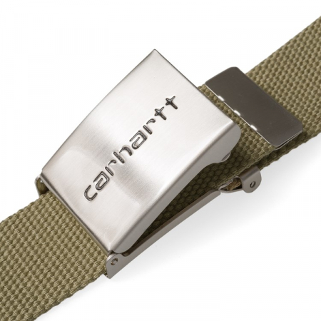 CARHARTT Clip Belt Chrome Leather2
