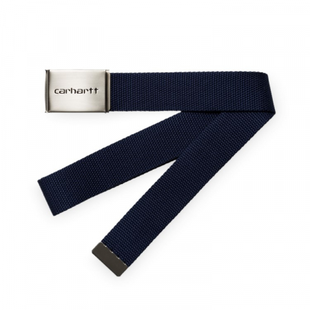 CARHARTT Clip Belt Chrome Dark Navy0