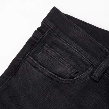 CARHARTT Rebel Pant Black mid worn wash1