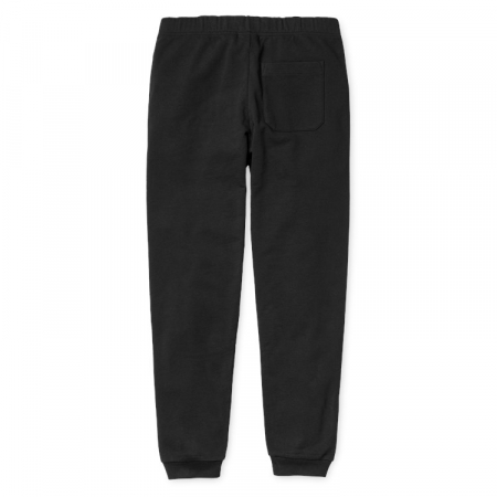 CARHARTT COLLEGE SWEAT PANT BLACK / WHITE1