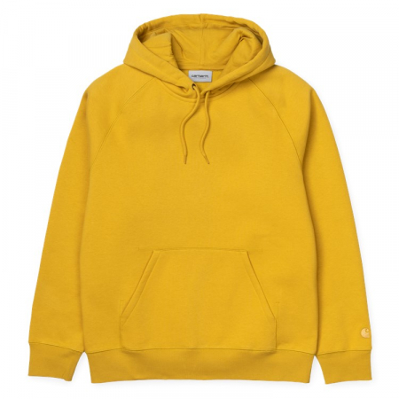 CARHARTT HOODED CHASE SWEAT COLZA / GOLD0
