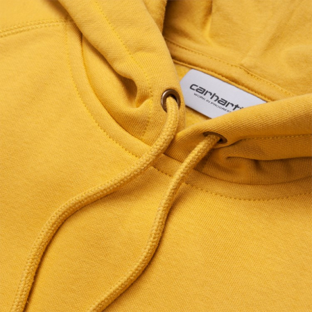 CARHARTT HOODED CHASE SWEAT COLZA / GOLD1
