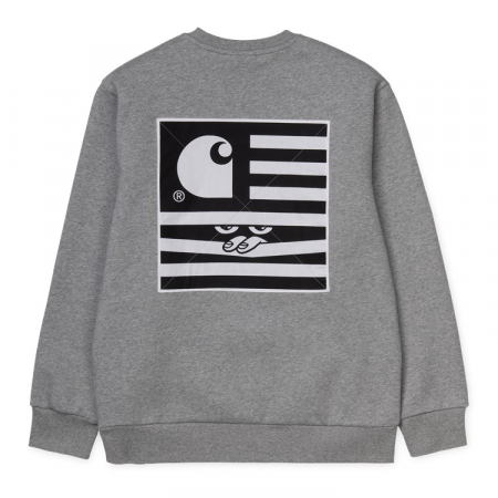 CARHARTT Incognito Sweat Grey Heather2