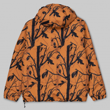 CARHARTT NIMBUS PULLOVER CAMO TREE, ORANGE1