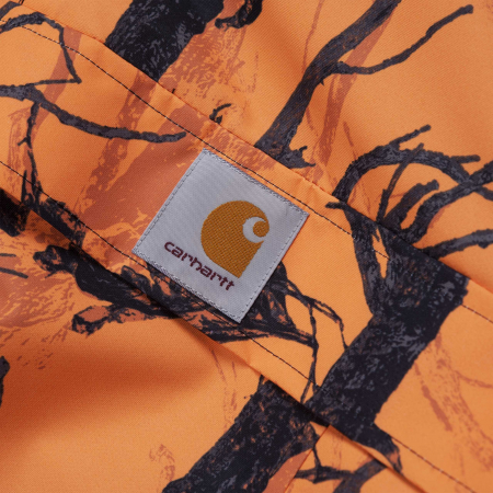 CARHARTT NIMBUS PULLOVER CAMO TREE, ORANGE2