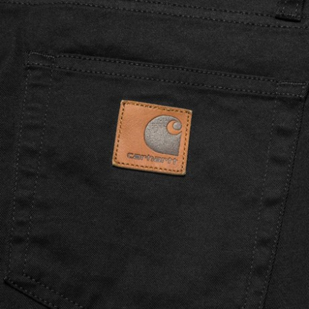 CARHARTT REBEL PANT DOUGLAS BLACK RINSED2