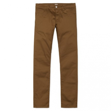 CARHARTT REBEL PANT DOUGLAS HAMILTON BROWN RINSED0