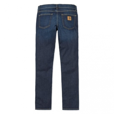 CARHARTT REBEL PANT SPICER BLUE DEEP COAST WASHED3