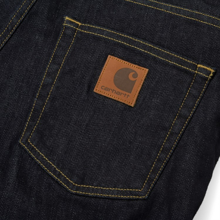 CARHARTT REBEL PANT SPICER BLUE ONE WASH3