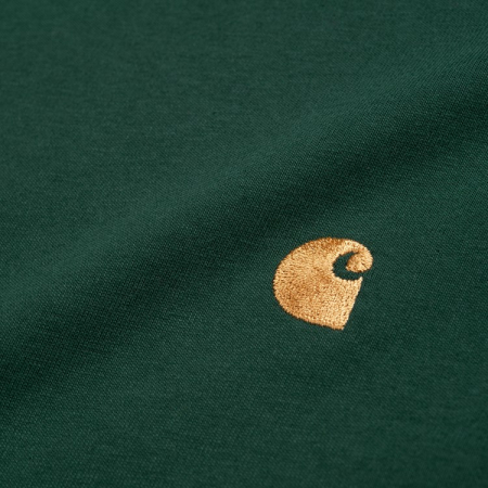 CARHARTT S/S Chase T-Shirt Treehouse / Gold1