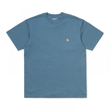 CARHARTT S/S Chase T-Shirt Mossa / Gold0