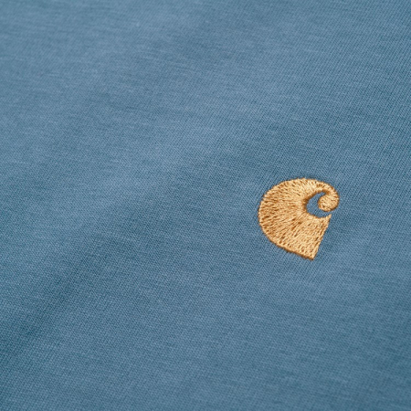 CARHARTT S/S Chase T-Shirt Mossa / Gold1