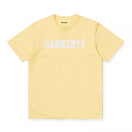 CARHARTT S/S College T-Shirt Fresco / White0