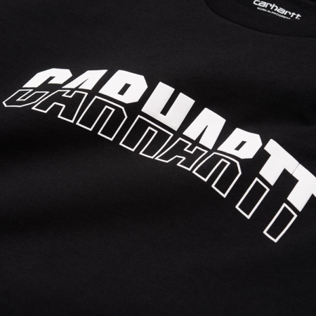 CARHARTT S/S District T-Shirt Black / White1