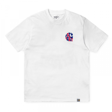 CARHARTT S/S Clearwater T-Shirt White0