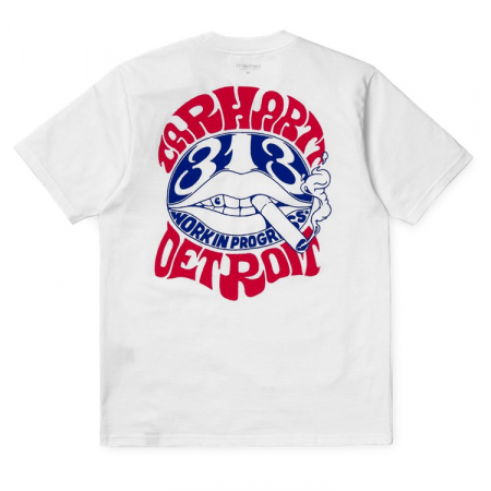 CARHARTT S/S Clearwater T-Shirt White1