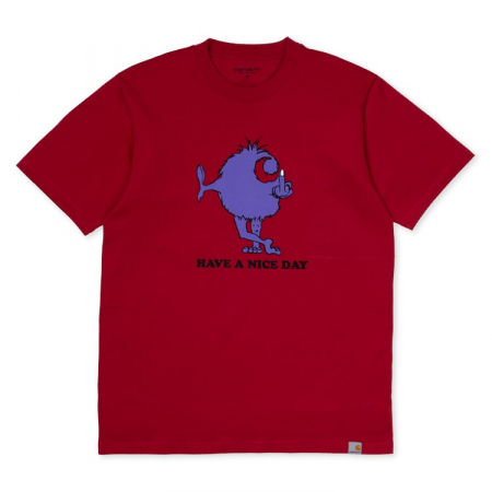 CARHARTT S/S Nice Day T-Shirt Blast Red0