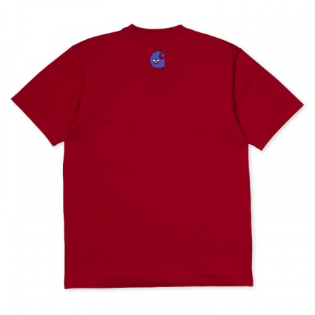 CARHARTT S/S Nice Day T-Shirt Blast Red3