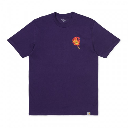 CARHARTT S/S Match T-Shirt Royal Violet0