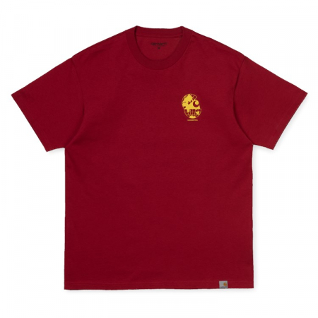 CARHARTT S/S Radio T-Shirt Blast Red / Yellow0